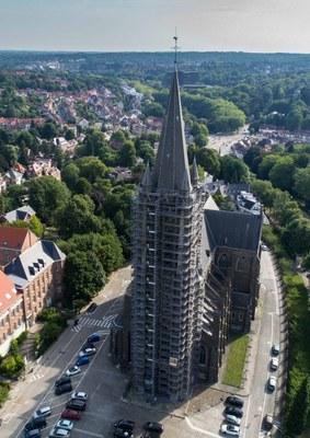 Een nieuwe weg voor de rehabilitatie van de St-Hubertkerk